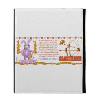 Valxart 1999 1939  zodiac EarthRabbit Sagittarius iPad Folio Cases