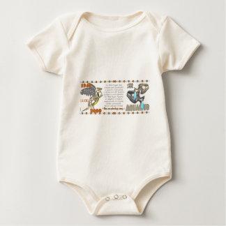 Valxart 2000 1940 2060 zodiac MetalDragon Aquarius Baby Bodysuit