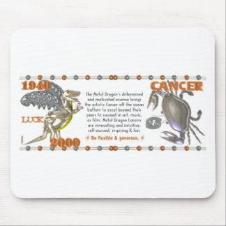 Valxart 2000 1940  2060 zodiac MetalDragon Cancer Mouse Pad