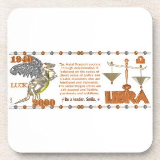Valxart 2000 1940  2060 zodiac MetalDragon Libra Coaster