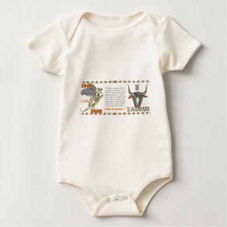 Valxart 2000 1940  2060 zodiac MetalDragon Taurus Baby Bodysuit