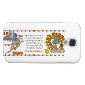 Valxart 2000 1940  2060 zodiac MetalDragon Virgo Galaxy S4 Case