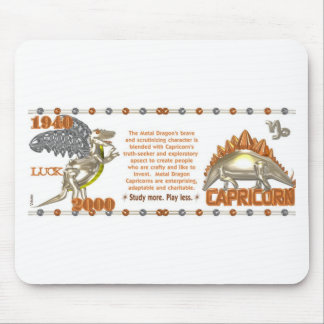 Valxart 2000 1940  zodiac MetalDragon Capricorn Mouse Pad