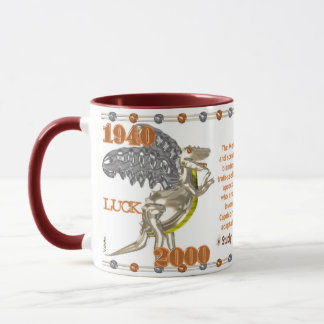 Valxart 2000 1940  zodiac MetalDragon Capricorn Mug