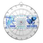 Valxart 2003 1943 2063 zodiac WaterSheep Aquarius Dartboard With Darts