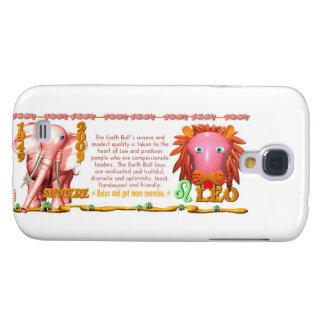 Valxart 2009 1949 2069 zodiacos Leo de EarthBull Funda Samsung S4