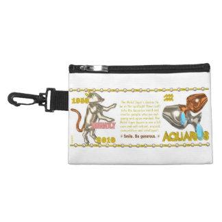 Valxart 2010 2070 1950 MetalTiger zodiac Aquarius Accessory Bag