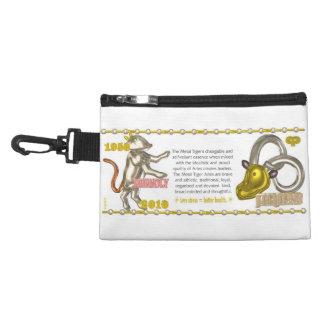 Valxart 2010 2070 1950 MetalTiger zodiac Aries Accessories Bag