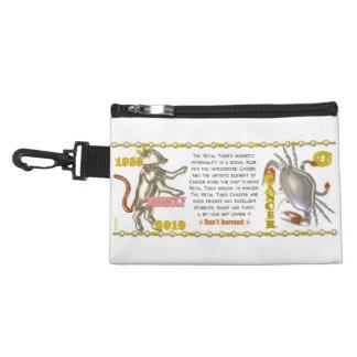 Valxart 2010 2070 1950 MetalTiger zodiac Cancer Accessory Bag