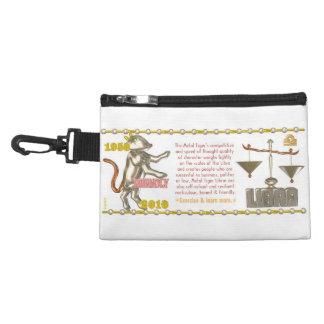 Valxart 2010 2070 1950 MetalTiger zodiac Libra Accessory Bags