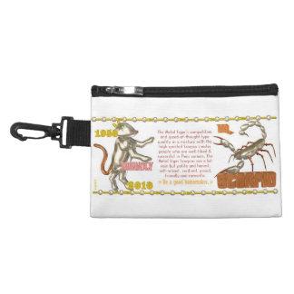 Valxart 2010 2070 1950 MetalTiger zodiac Scorpio Accessory Bags