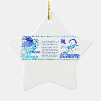 Valxart 2012 2072 1952 escorpiones del zodiaco de ornamento de navidad