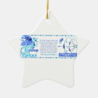 Valxart 2012 2072 1952 sagitarios de WaterDragon Ornamento Para Arbol De Navidad