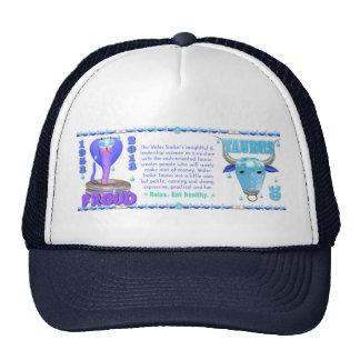 Valxart 2013 2073 1953 Water Snake Taurus Mesh Hats