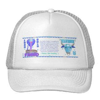 Valxart 2013 2073 1953 Water Snake Taurus Mesh Hat