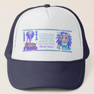 Valxart 2013 2073 1953 WaterSnake Leo zodiac Trucker Hat