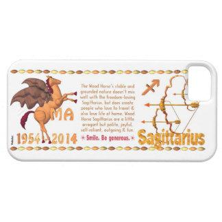 Valxart 2014 1954 Wood Horse zodiac Sagittarius iPhone 5 Cases