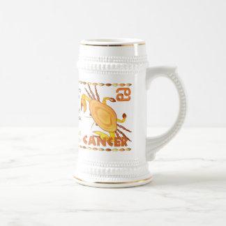 Valxart 2014 2074 1954 cánceres del zodiaco de jarra de cerveza