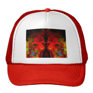 Valxart abstract jello art trucker hat