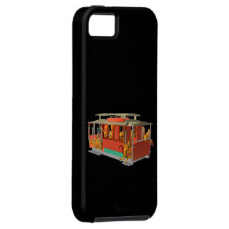 Valxart aliens in cable car iPhone case