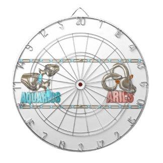 Valxart Aquarius Aries zodiac friendship Dartboards