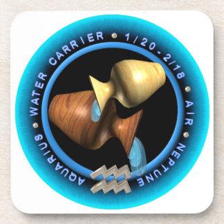 Valxart Aquarius  Hard Plastic coasters