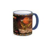 Valxart Aquarius Pisces zodiac Cusp Coffee Mugs