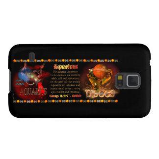 Valxart Aquarius Pisces zodiac Cusp Galaxy S5 Case