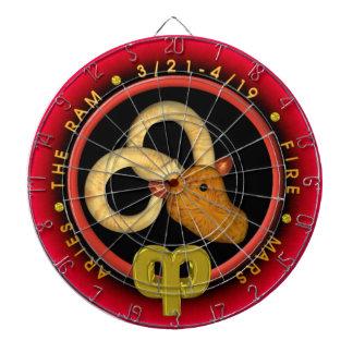 Valxart Aries zodiac Dartboard With Darts