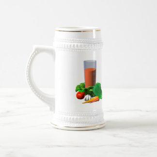 Valxart blank Vegetable Juice Template 100+ Beer Stein