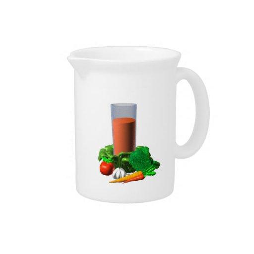 Valxart blank Vegetable Juice Template 100+ Beverage Pitcher