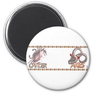 Valxart Cancer Aries zodiac friendship gift Magnet