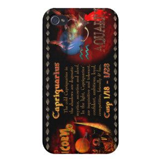Valxart Capriquarius Capricorn Aquarius Cusp Case For iPhone 4