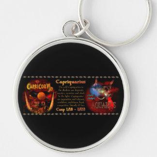 Valxart Capriquarius Capricorn Aquarius Cusp Keychain