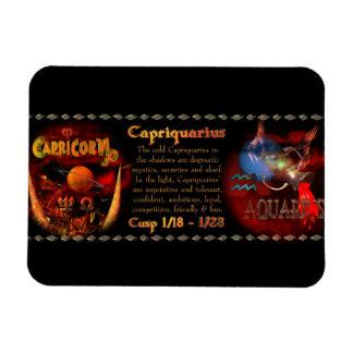 Valxart Capriquarius Capricorn Aquarius Cusp Rectangular Photo Magnet