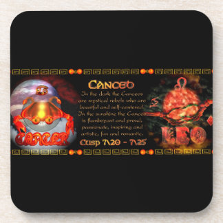 Valxart.com Cancer Leo zodiac Cusp is  Canceo Coaster