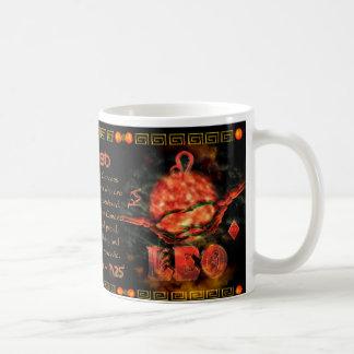 Valxart.com Cancer Leo zodiac Cusp is  Canceo Coffee Mug