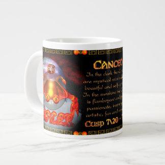 Valxart.com Cancer Leo zodiac Cusp is  Canceo Large Coffee Mug