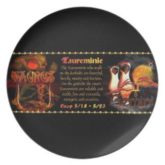 Valxart.com Gothic zodiac Taurus Gemini cusp Plate