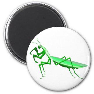 Valxart.com  Green preying mantis gifts Magnet