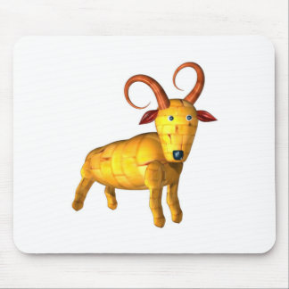 Valxart.com wood ram goat friendship gifts mouse pad