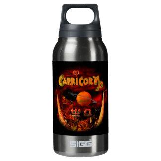 valxart creepy Capricorn zodiac Insulated Water Bottle