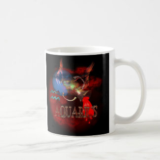 Valxart creepy zodiac born Aquarius Coffee Mug