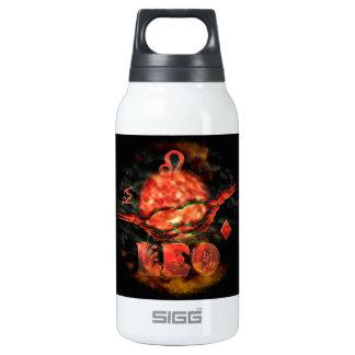 Valxart creepy zodiac born Leo Insulated Water Bottle
