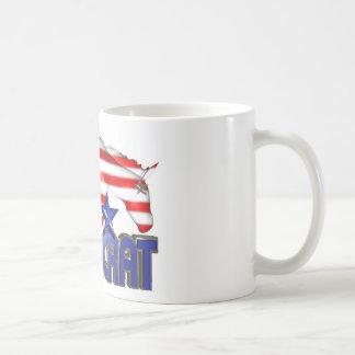 ValxArt Democratic USA flag donkey Coffee Mug