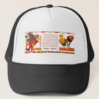 ValxArt Earth Dragon born Aquarius 1988 Trucker Hat