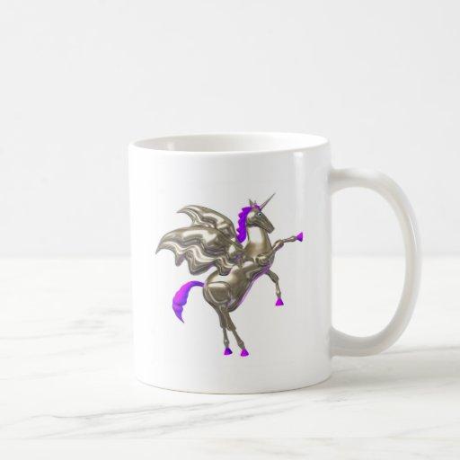 Valxart flying horse friendship designs coffee mug