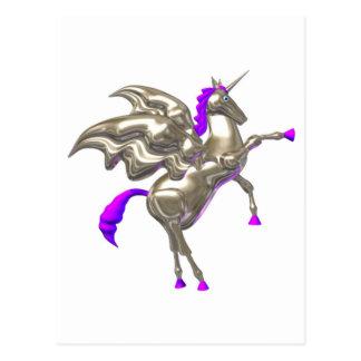 Valxart flying horse friendship designs postcard