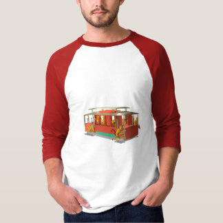 ValxArt funny cable car full of wood creatures T-Shirt