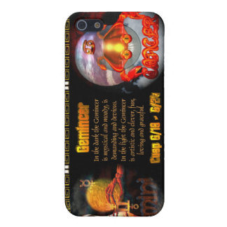 Valxart Gemini Cancer zodiac Cusp Case For iPhone 5